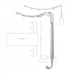 Saldanha abdominal retractor for lipoabdominoplasty