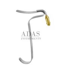 Freeman Flap Retractor with fiber otpic